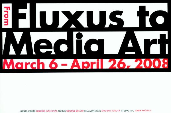 FluxusToMediaArt